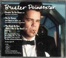 David Johansen BUSTER POINDEXTER 3 TRK SAMPLER 1994 PROMO DJ CD New York Dolls