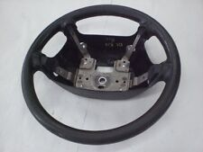 2000-2002  KIA RIO STEERING WHEEL BLACK OEM SEE PICTURES FOR CONDITION