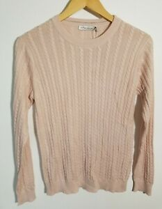 1 NWT WOMEN'S PETER MILLAR SWEATER, SIZE: SMALL, COLOR: DESRS (PALE PINK)(J302)
