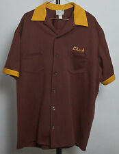 Vintage Mens Bowling Shirt. Large.Two-Tone! Embroidered! Be Chuck Richardson!