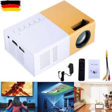 Tragbar Mini 1080p LED LCD 3D Beamer Heimkino Projektor FüR Tablet PC Handy DHL