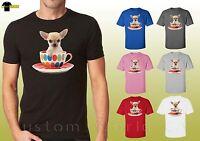 Chihuahua in a Cup Cute Dog puppy mini Chihuahua Shirts Unisex Shirt (14966hl4)