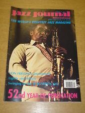 JAZZ JOURNAL INTERNATIONAL VOL 52 #4 1999 APRIL VON FREEMAN JACK TEAGARDEN
