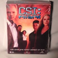 DVD CSI: MIAMI Season One (1) COMPLETE NEW MINT SEALED
