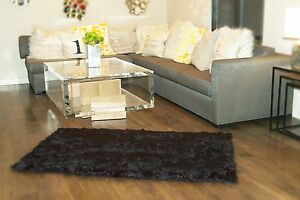 Rug Faux fur area Shaggy Rug rectangle shape plush Sheepskin Bedroom living room