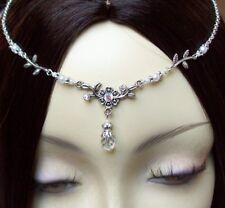 ~ V ~ Front Bijoux ° Nenya ° Latex ° Circlet ° Tiara ° Bijoux de cheveux diadème ° ° tressé ° Arwen ~ V ~