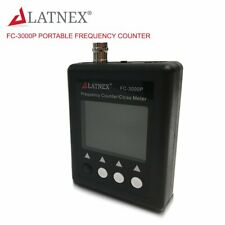 LATNEX FC-3000P 27Mhz-3000Mhz Radio Portable Frequency Counter Meter with CTCCSS