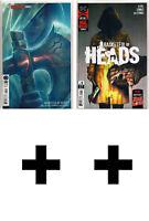 BASKETFUL OF HEADS #1,2,3++ Variant, Exclusive ~ DC Comics Joe Hill Horror