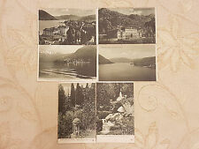 Lot Of 6 Vintage Original Postcards - Grand Hotel Villa d'Este, Italy