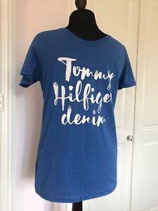 mens tommy hilfiger t shirt large