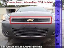 GTG 2006 - 2013 Chevy Impala LT 1PC Polished Upper Overlay Billet Grille Grill