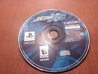 Sony PlayStation 1 PS1 PSOne Disc Only Tested Mega Man X6 Ships Fast