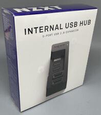NZXT Internal USB Hub, 5-Port USB 2.0 Expansion AC-IUSBH-M1, NEW!