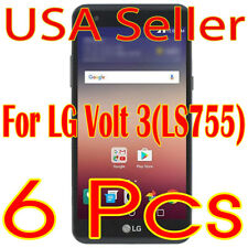 6x LG Volt 3 LS755 Clear Screen Protector LCD Saver (Ship from USA)