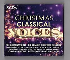 Christmas Classical Voices - 3 x CD digipak - Xmas songs