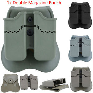 Double Magazine Pouch Holder for GLOCK 17,19,22,23,26,27,31,32,33,34,35,37,38,39