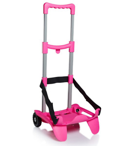 CARRELLINO PORTA ZAINO BE BOX SEVEN TOP fucsia SJ GANG - trolley