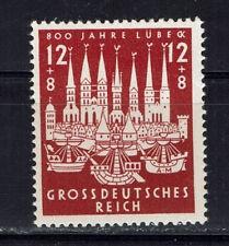 Germany Deutsches Reich 1943 Mi. Nr. 862 800th Anniversary of Lübeck MNH