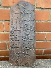 EARLY & EXTREMELY RARE ENGLISH OR CONTINENTAL INSCRIBED ROOFING TILE DATED 1682.