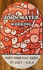 John Mayer 2019 All Access Pass Toronto Scotiabank Center  rare HAVE OTHERS