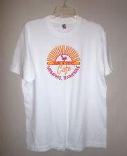 """Vintage 1990's Sun Studio Cafe T-Shirt Size Xl Chest 44"""" Elvis Jerry Lee Memphis"""