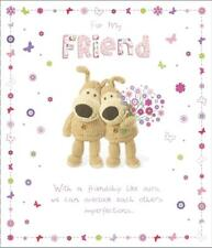 BOOFLE FOR MY FRIEND BIRTHDAY CARD NEW GIFT