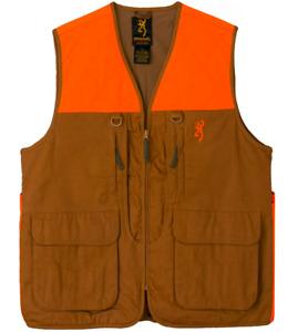 Browning Upland Hunting Vest Blaze/Khaki - Men's XL