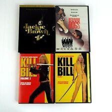 Quentin Tarantino Movies Dvd Kill Bill Vol. 1 & 2 Jackie Brown, Reservoir Dogs