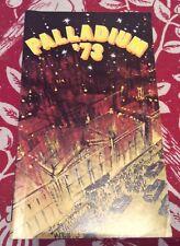 "Theatre Programme for ""Palladium '73"" starring Bruce Forsyth"