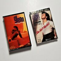 Glenn Medeiros Cassette 1990 MCA Records & She Ain't Worth It Single Bobby Brown