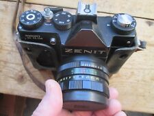 ZENIT CAMERA AND CASE AND SPECIAL LENSE TTL ZENIT