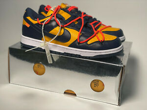 """"""" Off-White"""" dunk low (mens 10.5)"""