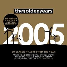 GOLDEN YEARS 2005  CD (Amerie, Britney Spears, Jessica Simpson) NEU