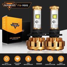 Auxbeam 9005 HB3 H10 9145 60W 6000LM LED Headlight Bulbs Kit Hi/Lo Beams 6000K