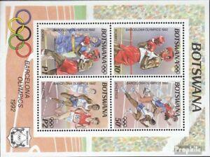 Botswana block25 mint never hinged mnh 1992 Olympics Summer ´92