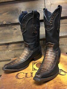 Cuadra Mens Boots Crocodile Fuscus Size 7 Last Pair
