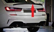 BMW 3 SERIES G20 2018+ M PERFORMANCE M SPORT GLOSS BLACK BOOT TRUNK SPOILER WING