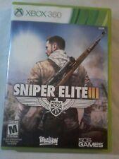 Sniper Elite III (Microsoft Xbox 360, 2014) CIB