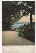 Abbazia In Curpark  Vintage Postcard Dr Trenkler US096