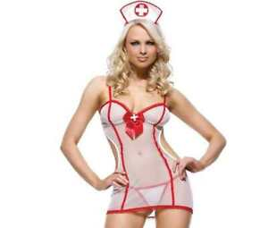 NUISETTE COSTUME 36 38 40 42 44 INFIRMIERE INFIRMIèRE SEXY MALADIE AMOUR WOMAN