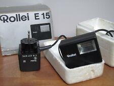 Appareil Photo Flash Rollei E15 Accessoire flash avec bloc d'alimentation