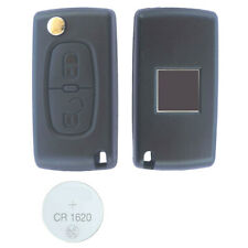 02B Remote Control Key FOB 2 Button Case Peugeot 207 SW 807 3008 5008 308 Expert