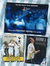 Tottenham Season Ticket Members Renewal Documents And Season Review