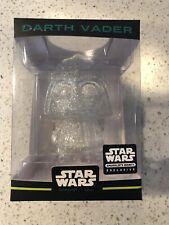 Funko Hikari Mini Star Wars Darth Vader Clear Glitter Smugglers Bounty EXCL