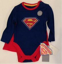BNWT Superman Bodysuit with Detachable Cape 3-6 months #Baby Gift #Baby Shower