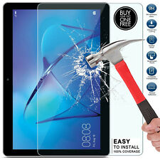 """Buy 1 Get 1 Free Huawei MediaPad T3 10 9.6"""" Tempered Glass Screen Protector Case"""