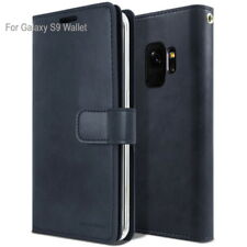 For Samsung Galaxy S9 S8 Plus / Note 8 Dual Shockproof Flip Wallet leather Case