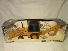 1995 Ertl Case Loader Backhoe In Original Box 1/16 Scale Near Mint