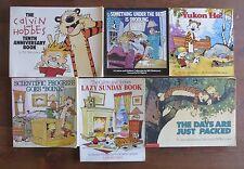 Lot 9 CALVIN & HOBBES Bill Watterson Comics 10th Ann.  Treasure Everywhere