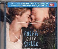 COLPA DELLE STELLE CD OST 2014 CHARLI XCX ED SHEERAN BIRDY LYKKE LI INDIANS